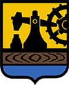 Punkt kurierski Katowice herb