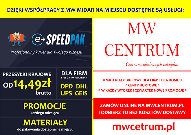 MW Midar - Punkt Paczkowy w Żyrardowie