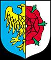 Punkt kurierski Olesno herb