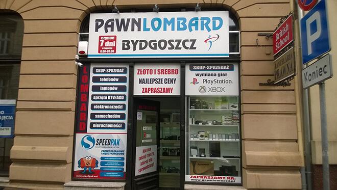 Punkt Paczkowy w Bydgoszczy na ulicy J.J. Śniadeckich